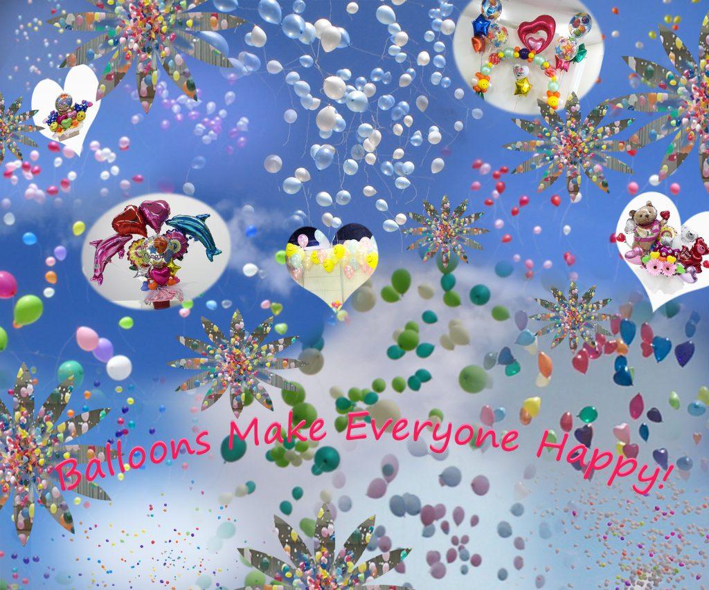 Balloons make Everyone Happy! 2016バージョン