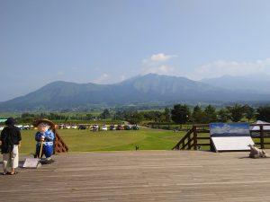 南阿蘇から望む阿蘇五岳